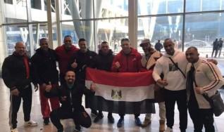 منتخب مصر لأساتذه كمال الاجسام يطير إلى أسبانيا  للمشاركة في بطوله العالم