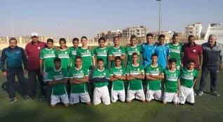 فريق المنيا  يفوز على  ناصر الفكرية ( 2/1 ) على ارضة في مباراة قوية