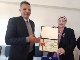 حملة شكرا العالمية تكرم رئيس حى السيدة زينب