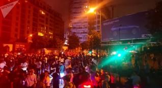 تجدد المواجهات بين المتظاهرين والأمن في وسط بيروت