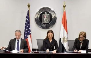 مصر وأمريكا توقعان المرحلة الثانية من إتفاق مبادرة تنمية شمال سيناء بقيمة 6 مليون دولار