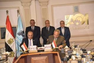 العربية للتصنيع توقع بروتوكول تعاون مع مركز بحوث الصحراء لتعميق التصنيع المحلي لوحدات أغشية معالجة وتحلية المياه