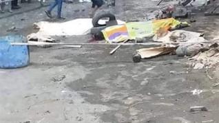 مصرع عاملين سقطا من أعلى سقالة عقار بالإسكندرية