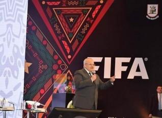 جامعة القاهرة تحتضن إحتفالية للفيفا والكاف بحضور نجوم الكرة