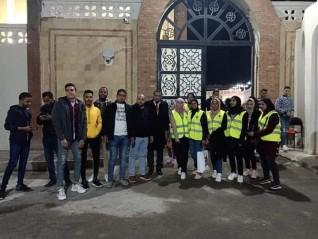 شباب مستقبل وطن البحر الأحمر يشارك في تأمين كنيسة الغردقة