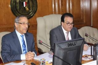 وزير التعليم العالى يترأس الإجتماع الأول لمجلس إدارة وكالة الفضاء المصرية