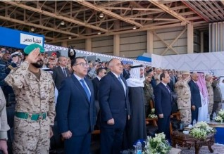 ولي عهد أبوظبي: إفتتاح قاعدة برنيس إنجاز يعكس رؤية مصر ويعزز دورها