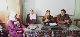 تعليم طوخ يرفع شعار نشر ثقافة رؤية مصر 2030