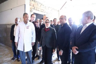 وزيرة الصحة تتفقد أعمال رفع كفاءة مستشفى الأقصر العام.. وتستجيب لمطالب المرضي