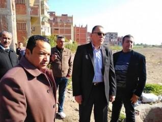 محافظ الشرقية يشدد على سرعة الإنتهاء من نقل محولات الكهرباء لتوسعة مدخل مدينة أبو حماد