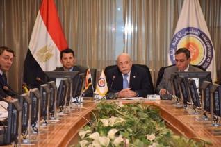 وزير الشباب يشارك بإجتماع قطاع التربية الرياضية بالمجلس الأعلى للجامعات المصرية