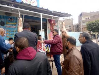 محافظ القليوبية يكلف السكرتير العام المساعد بالمرور على المجازر ومحلات الجزارة بمدينة الخانكة