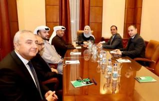 """القباج """"  تستقبل وفد اماراتى للاستفادة  من تجربة مصر فى علاج مرضى الإدمان"""