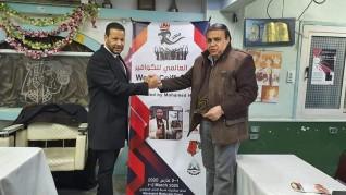 محمد حافظ سأبهر مصففي الشعر في اليوم العالمي للكوافير