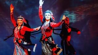 نيران جورجيا تضئ المسرح الكبير بالاوبرا