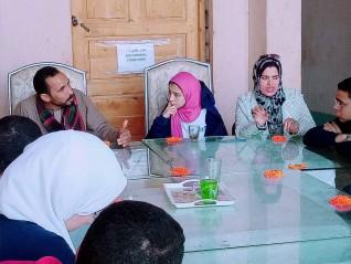 وفد رفيع المستوي من جامعة عين شمس يزور شركة الرحاب