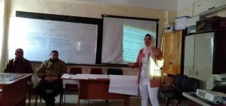 """""""التنمية المستدامة """" ورشة عمل بتعليم كفر شكر لنشر رؤية مصر 2030"""