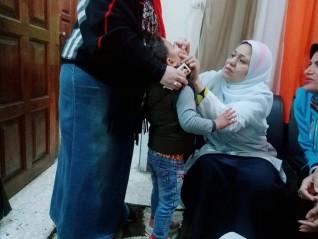 اليوم الختامي لحملةالقوميةلتطعيم ضدشلل الاطفال ابشواي