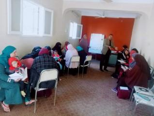 التدريب التربوي لتأهيل مدرسات محو الأمية بابشواي بالفيوم