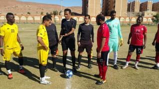 تأجيل مباراة القسم الثالث للمجموعة الأولى بسبب إحتفالية تعمد الشمس