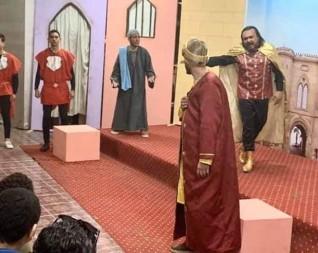 """تألق فرقة سماد طلخا المسرحية بالعرض المسرحي """"حرفوش الفرحان"""""""
