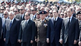 حزب المصريين عن جنازة مبارك: درس في احترام الدولة لقادتها