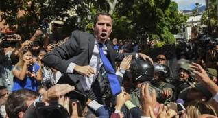 غوايدو يعلن عن محاولة اغتياله خلال مظاهرة في فنزويلا