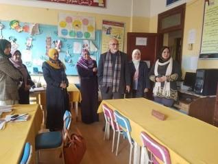 مدرسة كفر تصفا الإعدادية بنات أجمل مدرسة على مستوى محافظة القليوبية