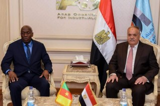الهيئة العربية للتصنيع تستقبل رئيس أركان الجيش الكاميروني