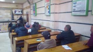 متطلبات الحماية المدنية في المجال التوعوي على طاولة المركزية للتدريب