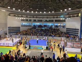 منطقه الفيوم للكيك بوكسينج تحقق 76 ميدالية فى بطولة مصر المفتوحة