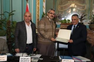 جامعة عين شمس تكرم عدد من البحوث التطبيقية