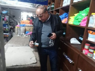 تموين الاسكندريه يستجيب لشكوي احدالمواطنين ويداهم شركة كبري تمتنع عن بيع  المطهرات