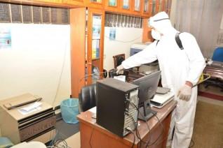 وزارة التنمية المحلية تتابع الإجراءات الوقائية والإحترازية لمواجهة فيروس كورونا