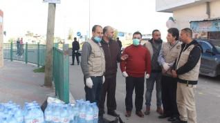 المجلس الفلسطيني الإقتصادي العالمي يقدم مساعدات إغاثية وطبية للمحجورين صحيا