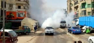 محافظ القاهرة يأمر بتطهير وتعقيم منطقتى العتبة والموسكى بعد اخلائهما