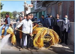 محافظ الاسكندرية يطلق مبادرة تطهير القري والنجوع من داخل قري ابيس