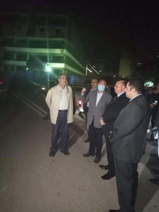 محافظ القاهرة يتفقد أحياء العاصمة للتأكد من التزام المواطنين بقرار الحظر