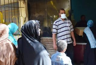مبادرة الناس لبعضهم  تواصل تقديم المساعدات للعمالة الغير منتظمة والأسر الأكثر إحتياجاً بأسوان