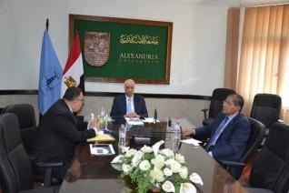 جامعة الإسكندرية تقرر عدم احتساب تقييم المواد الدراسية للفصل الدراسي الثاني ضمن المجموع التراكمي