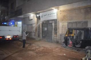 حملات مكبرة بمركز ابوقرقاص بالمنيا للنظافة والتجميل ورش وتعقيم المنشأت