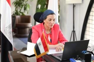 وزيرة البيئة تشارك في الفعاليات الافتراضية لحوار بيترسبرج للمناخ