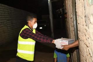حزب مستقبل وطن يوزع 750 كرتونة رمضانية علي أهالي قري كوم أمبو