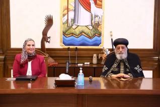 """""""بنت الملك """" أول تعاون بين بنك ناصر الاجتماعي والكنيسة القبطية الارثوذكسية"""