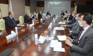 وزير الإسكان يتابع الموقف التنفيذى لمشروع تطوير «محور الفريق إبراهيم العرابي»