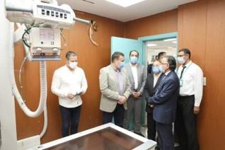بالصور : محافظ المنوفية يفتتح مستشفى الشروق بقويسنا بسعة 40 سرير