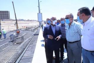 وزير النقل يتابع أعمال التطوير والصيانة الشاملة للطريق الدائري حول القاهرة الكبرى بطول 106كم