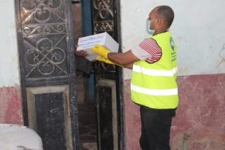 مستقبل وطن بادفو يواصل حملات التعقيم والتطهير وتوزيع المساعدات الغذائية لمواجهة كورونا