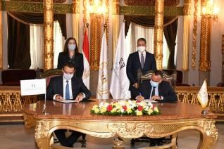وزيرا التخطيط والسياحة يشهدان تدشين صندوق مصر السيادي لإحياء المناطق الأثرية