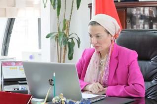 وزيرة البيئة تشارك في الحدث الافتراضي رفيع المستوى الخاص بالتنفيذ الفعال للتمويل المناخي القائم على الاحتياجات